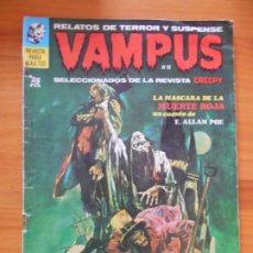 Cómics: VAMPUS Nº 12 - RELATOS DE TERROR Y SUSPENSE SELECCIONADOS DE LA REVISTA CREEPY (CI). Lote 182575985
