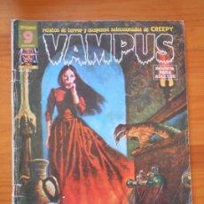 Cómics: VAMPUS Nº 45 - RELATOS DE TERROR Y SUSPENSE SELECCIONADOS DE LA REVISTA CREEPY - CON POSTER (CI). Lote 182577910
