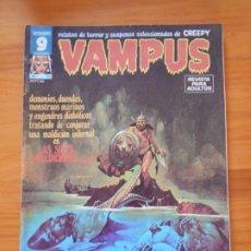 Cómics: VAMPUS Nº 55 - RELATOS DE TERROR Y SUSPENSE SELECCIONADOS DE LA REVISTA CREEPY - CON POSTER (CI). Lote 182578725
