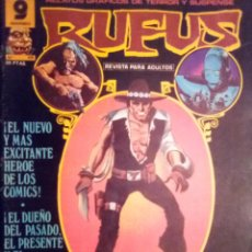 Cómics: RUFUS-RELATOS GRÁFICOS DE TERROR Y SUSPENSE- Nº 48 -1977-LUIS BERMEJO-BUENO-DIFÍCIL-2388. Lote 183762862