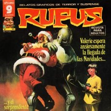 Cómics: RUFUS-RELATOS GRÁFICOS DE TERROR Y SUSPENSE- Nº 55 -1977-AL WILLIAMSON-A.ALCALÁ-BUENO-DIFÍCIL-2389. Lote 183831163