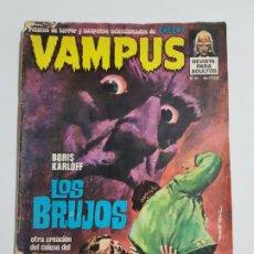 Cómics: VAMPUS Nº 31 ESTADO NORMAL MAS ARTICULOS. Lote 184059358