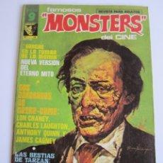 Cómics: FAMOSOS MONSTERS DEL CINE (1975, GARBO) 16 · VIII-1976 · FAMOSOS MONSTERS DEL CINE. Lote 184206220