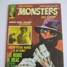 Fumetti: FAMOSOS MONSTERS DEL CINE (1975, GARBO) 15 · VII-1976 · FAMOSOS MONSTERS DEL CINE. Lote 184206433