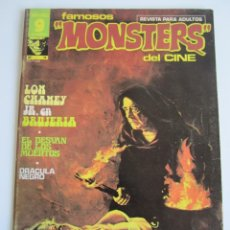 Cómics: FAMOSOS MONSTERS DEL CINE (1975, GARBO) 11 · III-1976 · FAMOSOS MONSTERS DEL CINE. Lote 184206672
