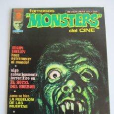 Cómics: FAMOSOS MONSTERS DEL CINE (1975, GARBO) 5 · VIII-1975 · FAMOSOS MONSTERS DEL CINE. Lote 184211218