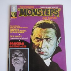 Cómics: FAMOSOS MONSTERS DEL CINE (1975, GARBO) 1 · IV-1975 · FAMOSOS MONSTERS DEL CINE. Lote 184211627