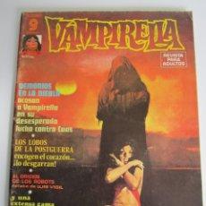 Comics: VAMPIRELLA (1974, GARBO) 10 · IX-1975 · DEMONIOS EN LA NIEBLA. Lote 184864858