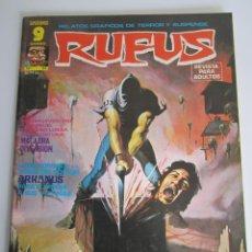 Cómics: RUFUS (1973, IMDE / GARBO) 27 · VIII-1975 · MACABRA DIVERSIÓN. Lote 184871978
