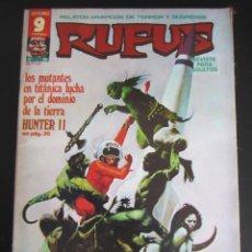 Fumetti: RUFUS (1973, IMDE / GARBO) 36 · V-1976 · HUNTER II. Lote 184875040
