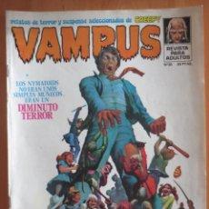 Cómics: VAMPUS Nº 35 CON POSTER. Lote 184881050
