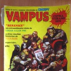 Fumetti: VAMPUS EXTRA VERANO 1972. Lote 184882863