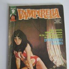 Cómics: VAMPIRELLA (1974, GARBO) 22 · IX-1976 · ENTERRADORES MALIGNOS. Lote 186231395