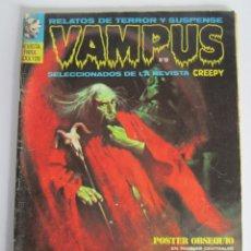 Cómics: VAMPUS (1971, IMDE / GARBO) 19 · III-1973 · VAMPUS. Lote 186240741