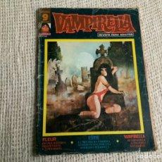 Fumetti: VAMPIRELLA Nº 7 ( TEBEO DE TERROR ) - EDITA : GARBO EDITORIAL - AÑOS 70. Lote 187486120
