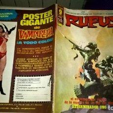 Cómics: COMIC: RUFUS. RELATOS GRÁFICOS DE TERROR Y SUSPENSE. Nº 34. Lote 189204710