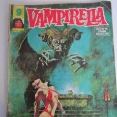 Comics: VAMPIRELLA (1974, GARBO) 6 · V-1975 · ¡INFIERNO EN LA NIEVE!. Lote 189243773