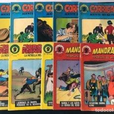 Cómics: 10 EJEMPLARES SUPERCOMICS / CORRIGAN - MANDRAKE - JORGE Y FERNANDO / GARCO 1973 / SIN USAR. Lote 189777680