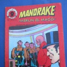 Cómics: SUPERCOICS GARBO , MANDRAKE , NUMERO 9. Lote 190121647