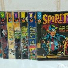 Cómics: SPIRIT SUPERCOMICS GARBO LOTE DE 7 COMICS. Lote 190530462