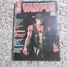 Cómics: COMIC VAMPUS Nº49 SEPTIEMBRE 1975. EDITORIAL GARBO. SELECCIÓN CREEPY.. Lote 191628293