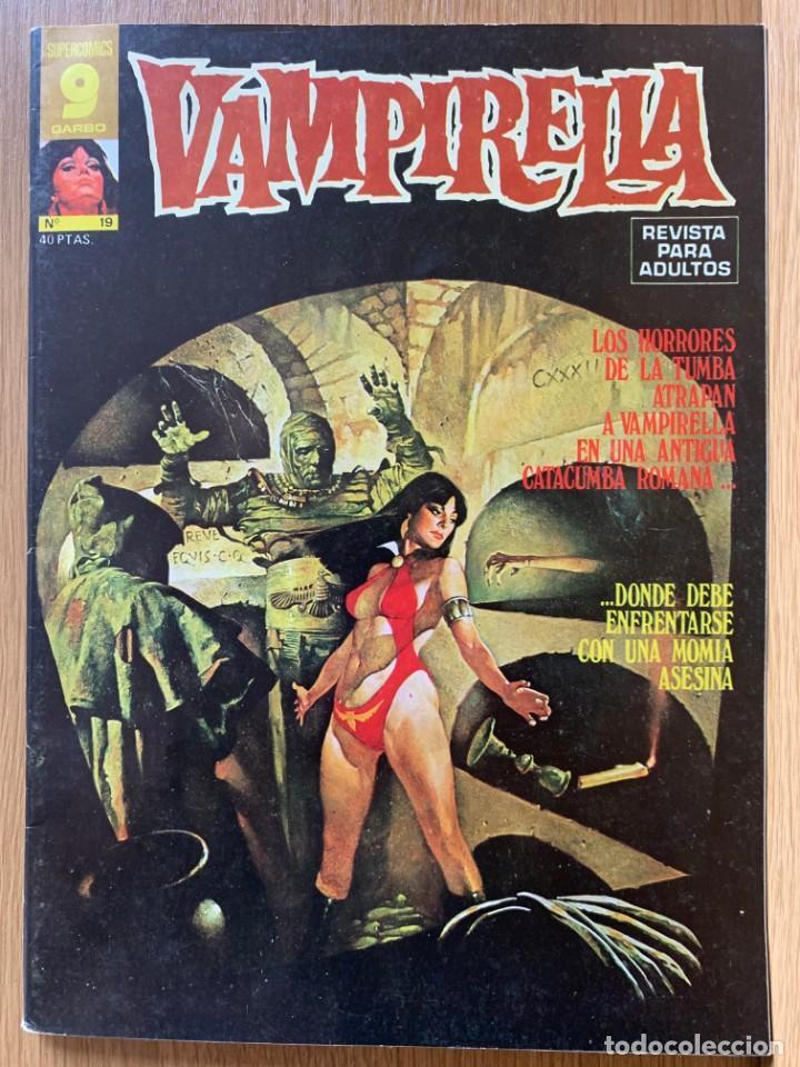 VAMPIRELLA - Nº 19 - GARBO (Tebeos y Comics - Garbo)