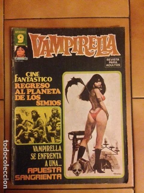 VAMPIRELLA Nº 28 FRANK ROBBINS JOSE GONZALEZ A COLOR TONY DE ZUÑIGA ...- GARBO EDITORIAL (Tebeos y Comics - Garbo)