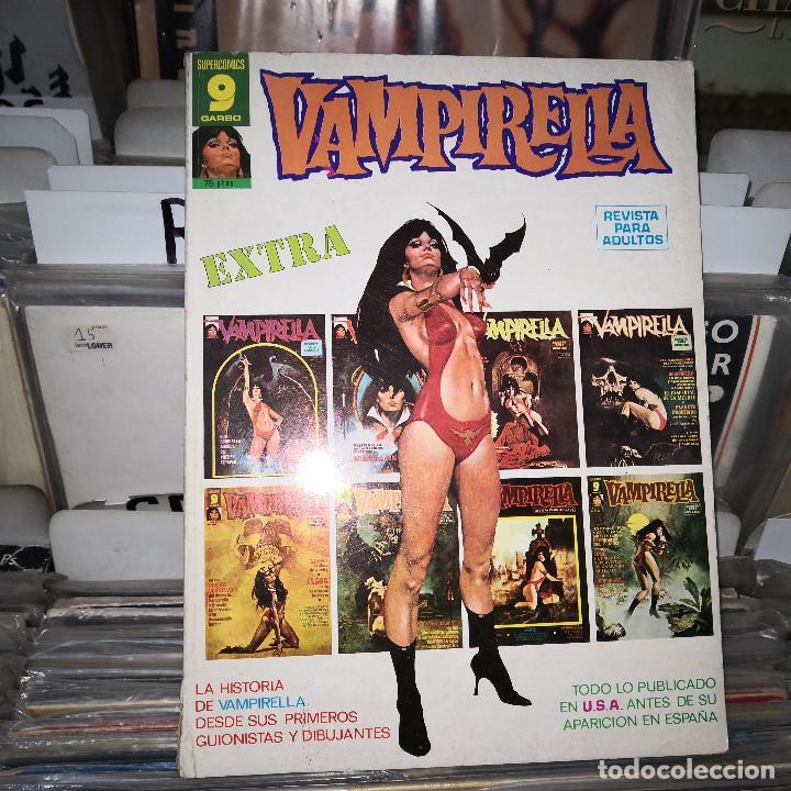 VAMPIRELLA, EXTRA, TODO LO PUBLICADO EN USA ANTES DE SU APARICIÓN EN ESPAÑA,GARBO (Tebeos y Comics - Garbo)