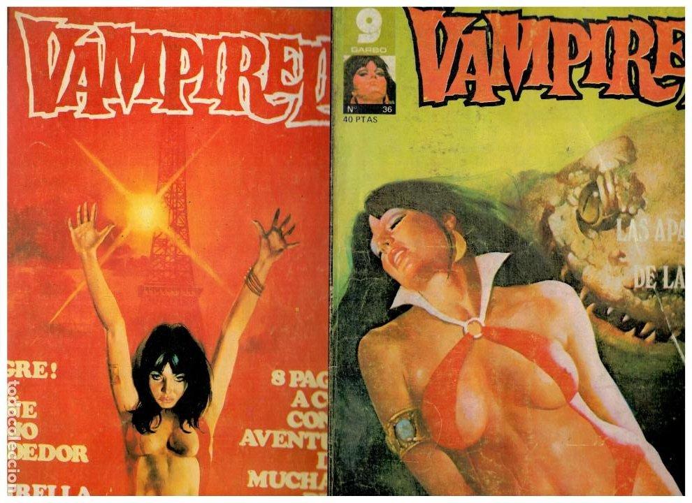 VAMPIRELLA. NÚMEROS 31 Y 36. GARBO 1977. (Tebeos y Comics - Garbo)