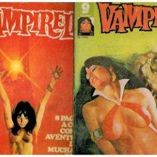 Cómics: VAMPIRELLA. NÚMEROS 31 Y 36. GARBO 1977.. Lote 194241232