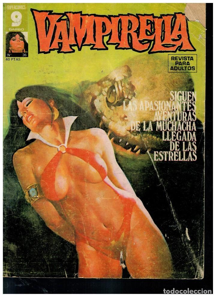 Cómics: VAMPIRELLA. NÚMEROS 31 Y 36. GARBO 1977. - Foto 2 - 194241232