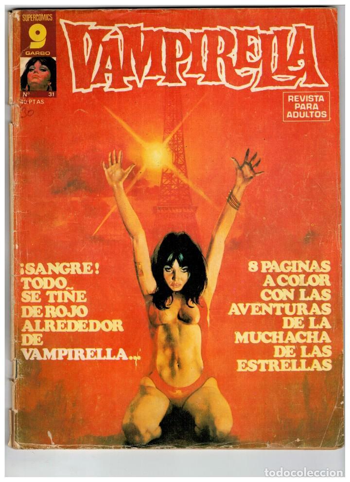 Cómics: VAMPIRELLA. NÚMEROS 31 Y 36. GARBO 1977. - Foto 3 - 194241232