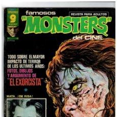 Cómics: FAMOSOS MONSTERS DEL CINE Nº 19. GARBO: NOVIEMBRE DE 1976. BUENO.. Lote 194242601
