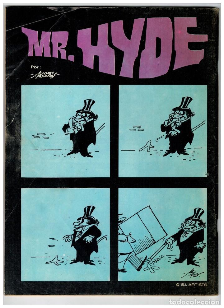 Cómics: FAMOSOS MONSTERS DEL CINE Nº 19. GARBO: NOVIEMBRE DE 1976. BUENO. - Foto 2 - 194242601