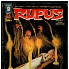 Cómics: RUFUS Nº. 54 - RELATOS DE TERROR Y SUSPENSE - GARBO 1973.. Lote 194245857