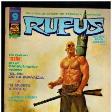 Cómics: RUFUS Nº. 30 - RELATOS DE TERROR Y SUSPENSE - GARBO 1973.. Lote 194246021