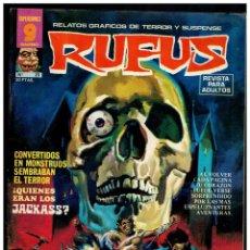 Cómics: RUFUS Nº. 23 - RELATOS DE TERROR Y SUSPENSE - GARBO 1973. EXCELENTE.. Lote 194246131