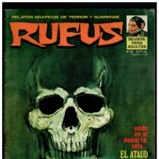 Cómics: RUFUS Nº. 22 - RELATOS DE TERROR Y SUSPENSE - GARBO 1973.. Lote 194246211
