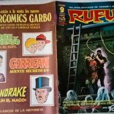 Cómics: COMIC: RUFUS Nº 41. Lote 194624860