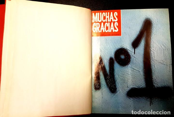 Cómics: MUCHAS GRACIAS (GARBO, 1976) 2ª ÉPOCA COMPLETA: 59 NÚMEROS - Foto 2 - 194680715