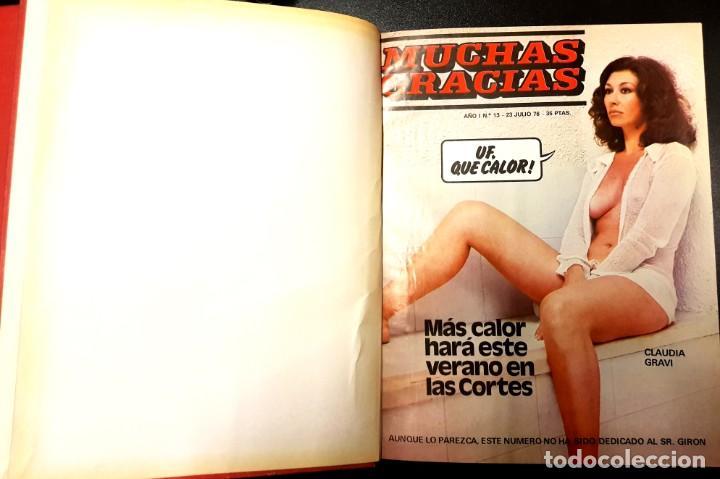 Cómics: MUCHAS GRACIAS (GARBO, 1976) 2ª ÉPOCA COMPLETA: 59 NÚMEROS - Foto 3 - 194680715