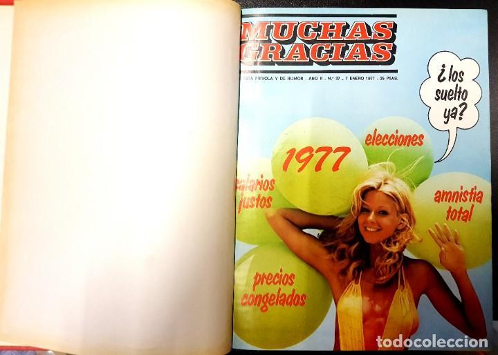 Cómics: MUCHAS GRACIAS (GARBO, 1976) 2ª ÉPOCA COMPLETA: 59 NÚMEROS - Foto 5 - 194680715