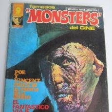 Cómics: FAMOSOS MONSTERS DEL CINE (1975, GARBO) 17 · IX-1976 · FAMOSOS MONSTERS DEL CINE. Lote 197569413