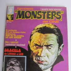 Cómics: FAMOSOS MONSTERS DEL CINE (1975, GARBO) 1 · IV-1975 · FAMOSOS MONSTERS DEL CINE**EXCELENTE***. Lote 197571300