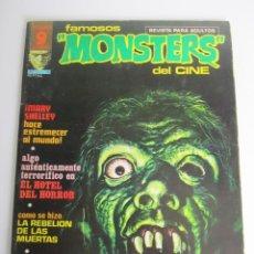 Cómics: FAMOSOS MONSTERS DEL CINE (1975, GARBO) 5 · VIII-1975 · FAMOSOS MONSTERS DEL CINE. Lote 197571680