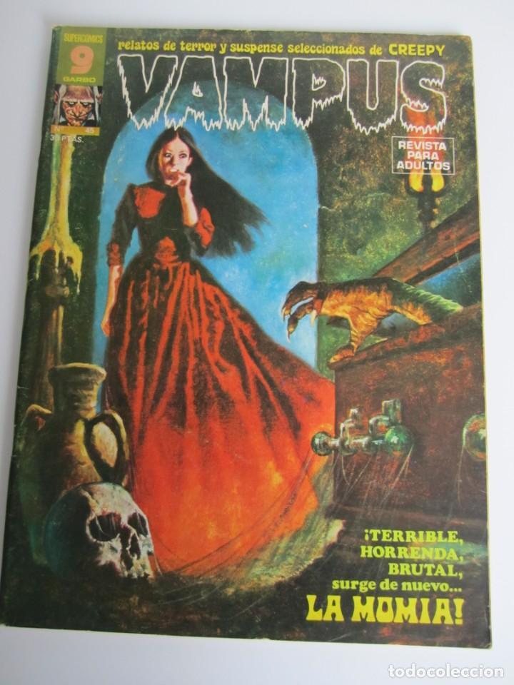 VAMPUS (1971, IMDE / GARBO) 45 · V-1975 · LA MOMIA (Tebeos y Comics - Garbo)