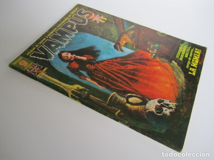 Cómics: VAMPUS (1971, IMDE / GARBO) 45 · V-1975 · LA MOMIA - Foto 3 - 197573022