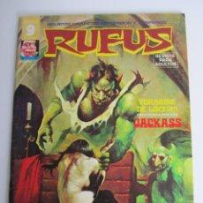 Fumetti: RUFUS (1973, IMDE / GARBO) 25 · VI-1975 · VORÁGINE DE LOCURA / LA NOCHE DE LA MUERTE ROJA. Lote 197585988
