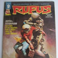 Cómics: RUFUS (1973, IMDE / GARBO) 38 · VII-1976 · HUNTER Y EXTERMINADOR. Lote 197586322