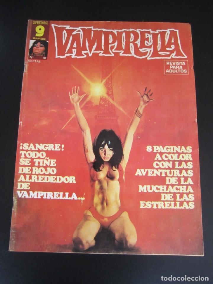 VAMPIRELLA (1974, GARBO) 31 · VI-1977 · VAMPIRELLA (Tebeos y Comics - Garbo)